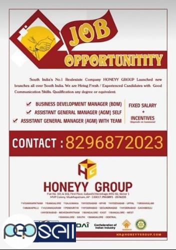 Job vacancy in Banglore North Sahakar nagar 0
