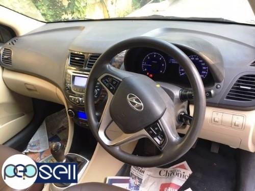 2013 Hyundai Fluid Verna SX Diesel White colour single owner 82900 km driven insurance till may 2020 3