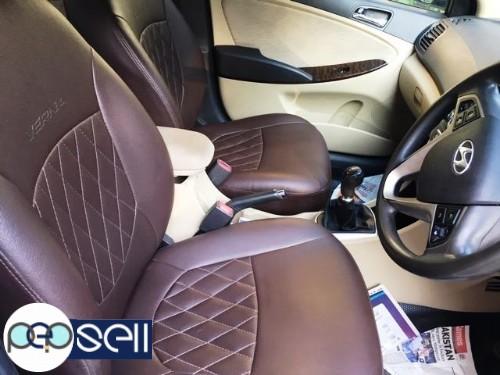 2013 Hyundai Fluid Verna SX Diesel White colour single owner 82900 km driven insurance till may 2020 4