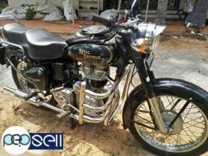 1990 model Royal Enfield Bullet papers  clear