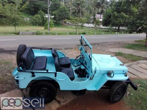 Open Body Licenced Willy's Jeep For sale - Ernakulam