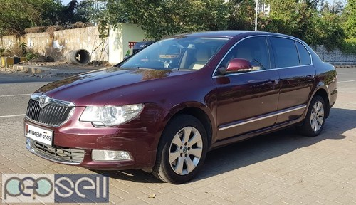 2011 Skoda Superb 2.0 TDI 1st Owner Automatic diesel with Sunroof 1
