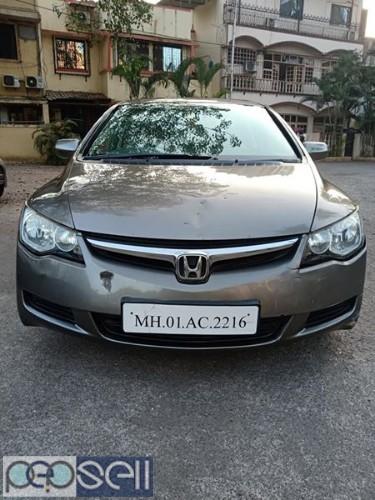 Honda Civic automatic CNG register 2007 model at Mumbai 1