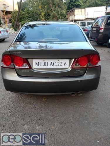Honda Civic automatic CNG register 2007 model at Mumbai 4