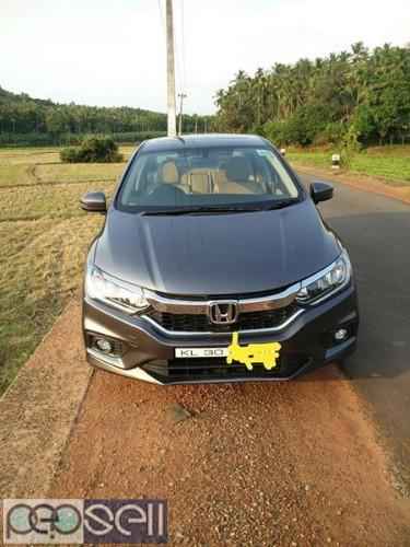 Honda City vx CVT 2017 September Sunroof 0