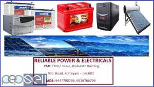 RELIABLE POWERS & ELECTRICALS, Solar Inverter Dealer in Kottayam