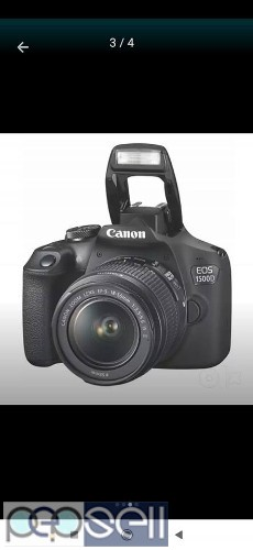 Canon 1500 D DSLR camera new in a sealed box with 16 GB card and carry bag. 0