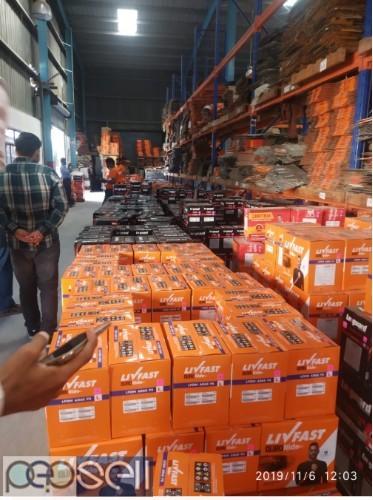 PERUVELIL AGENCIES -Livfast Battery Distributors Kollam,Karunagappally,Anchal,Oachira,Punalur,Kottarakara 3