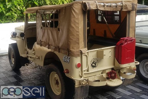 1984 model Mahindra jeep for sale at Chalakudy 0