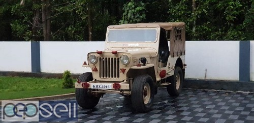 1984 model Mahindra jeep for sale at Chalakudy 1