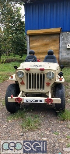 1984 model Mahindra jeep for sale at Chalakudy 2