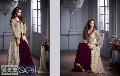 Women's clothing Long Dresses-Long Gown-Designer Chaniya Choli-Saree 0
