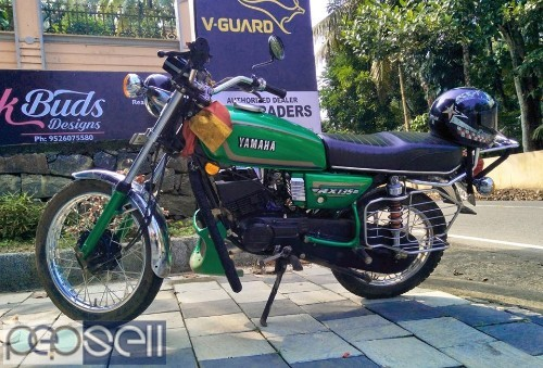 1997 Yamaha RX135 ..good condition for sale 3