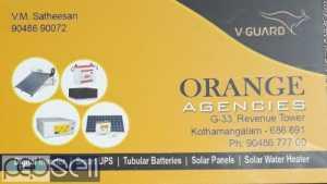 Orange Agencies  Live guard Inverter Dealer Perumbavoor- Kodanad-Kothamangalam -moovattupuzha-thodupuzha