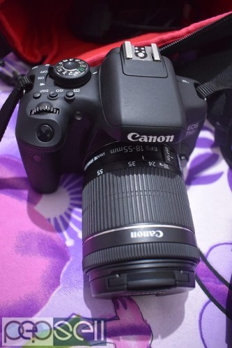 Canon 750d with 18_55mm kit lensfor sale 0