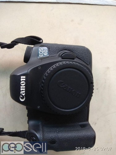 Canon 6D 2 year old body with charger and battery.. 1