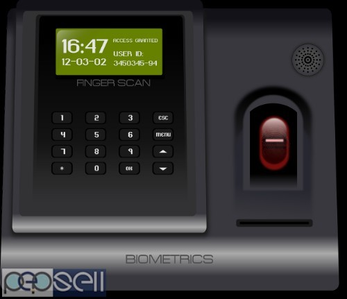 Biometric and card access control 2
