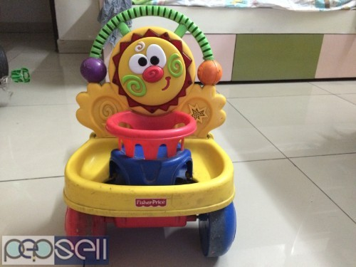 "Kids Walker, Fisher Price ""Two in one walker with excellent condition"" 0"