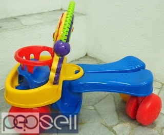 "Kids Walker, Fisher Price ""Two in one walker with excellent condition"" 1"