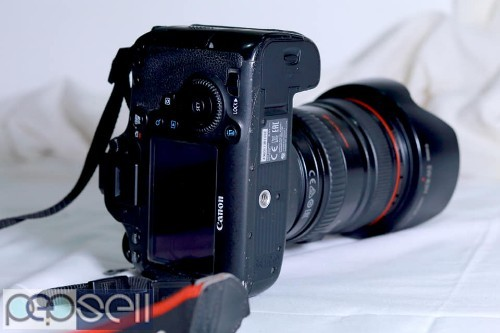 Canon 6D with 24-105 mm usm lens 2 years old for sale 1