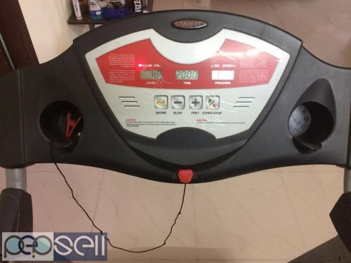 2.5 yrs old Stayfit treadmill for sale  0