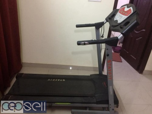 2.5 yrs old Stayfit treadmill for sale  1