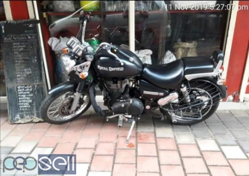 2015/07 Royal Enfield Thunderbird 350 for sale in Perinthalmanna 1