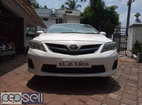 Re-Registered Toyota Corolla Altis for sale in Chalakudy 0