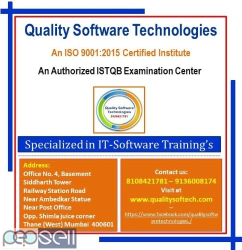 Python Course, Machine Learning Course, Data Science Training in Thane @ Quality Software Technologies 0