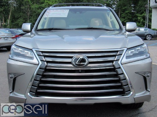 LEXUS LX 570 SUV Gulf Specs 2019 (Silver) FOR SALE 0