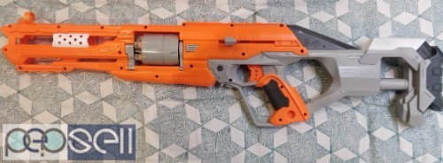 Brand New NERF AlphaHawk blaster for Sale with Extra Darts 1
