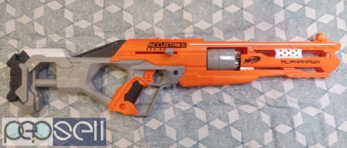 Brand New NERF AlphaHawk blaster for Sale with Extra Darts 2