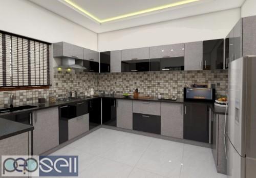 KITCHEN GALAXY -Modular Kitchen Dealer kollam ,Modular Kitchen Work kollam 3