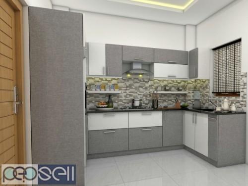 KITCHEN GALAXY -Modular Kitchen Dealer kollam ,Modular Kitchen Work kollam 5