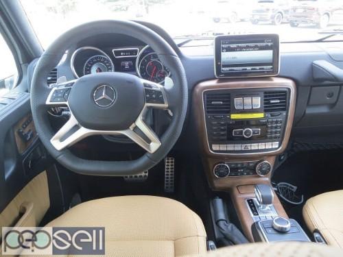 2016 Mercedes Benz G63 AMG 1