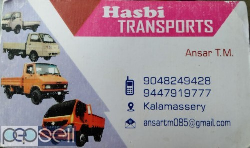 HASBI TRANSPORTERS Packers And Movers Service Kalamassery Ernakulam Kochi 0