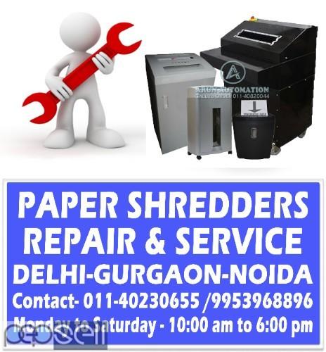 Paper Shredder Machine Repair in Delhi 0