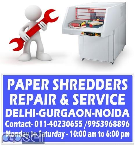 Paper Shredder Machine Repair in Delhi 4