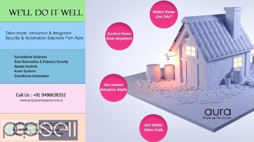 CCTV Thrissur | CCTV Installation Thrissur | Aura Business Solutions 0