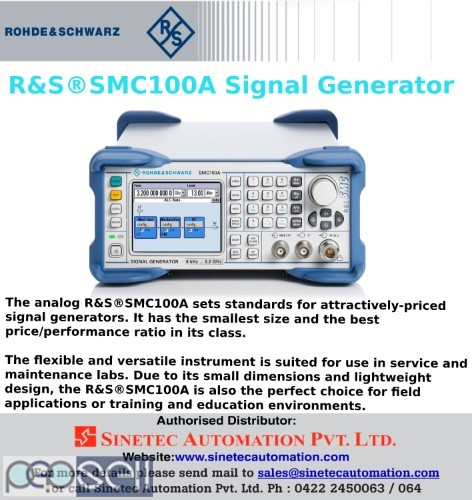 Signal Generator -Kochi-Sinetec Automation Pvt ltd 0