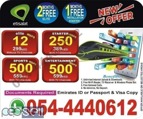 ETISALAT ELIFE PACKAGES 0