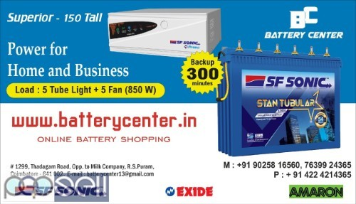 Inverter and Inverter Batteries for Sale  2