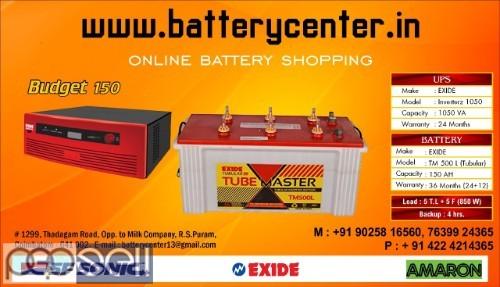Inverter and Inverter Batteries for Sale  4