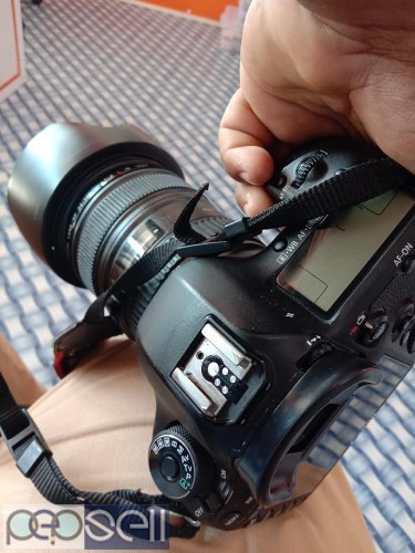 Canon. 5d. Mark iii With 24:105.lens for sale 0