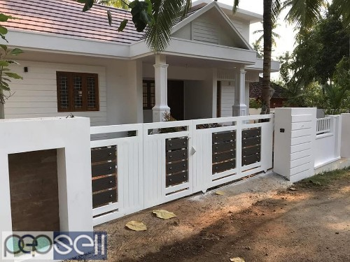 9 cent plot 1800 sqft home for sale at Thrissur 1