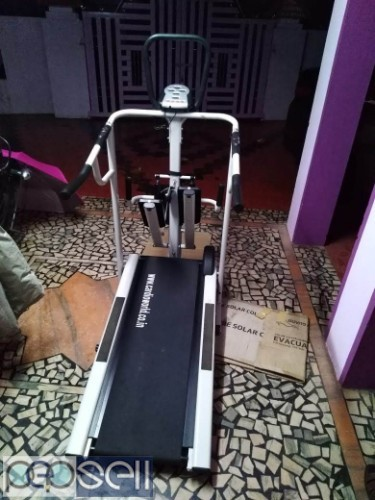 4 in 1 manual Treadmill for sale at Koratty 0