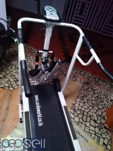 4 in 1 manual Treadmill for sale at Koratty 1