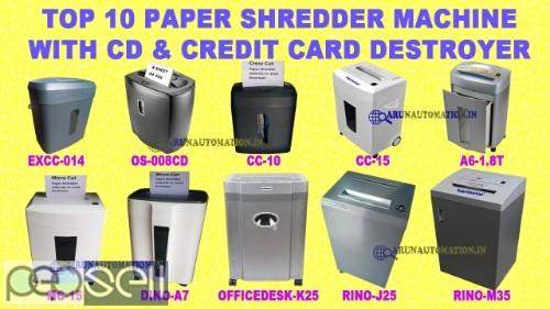 Book Paper Shredder Machine in Delhi 0
