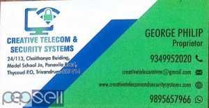CREATIVE TELECOM&SECURITY SYSTEM -CCTV Installation and Service  ,Dealers Trivandrum,Thycaud,Nemom,Pattom