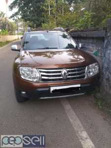 2012 model Duster Rxz 110 for sale at Kalady, Nedumbassery